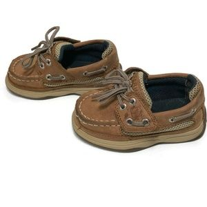 Sperry Shoes - Sperry Lanyard A/C Deck Shoes Boys 5.5 Dirty Buck